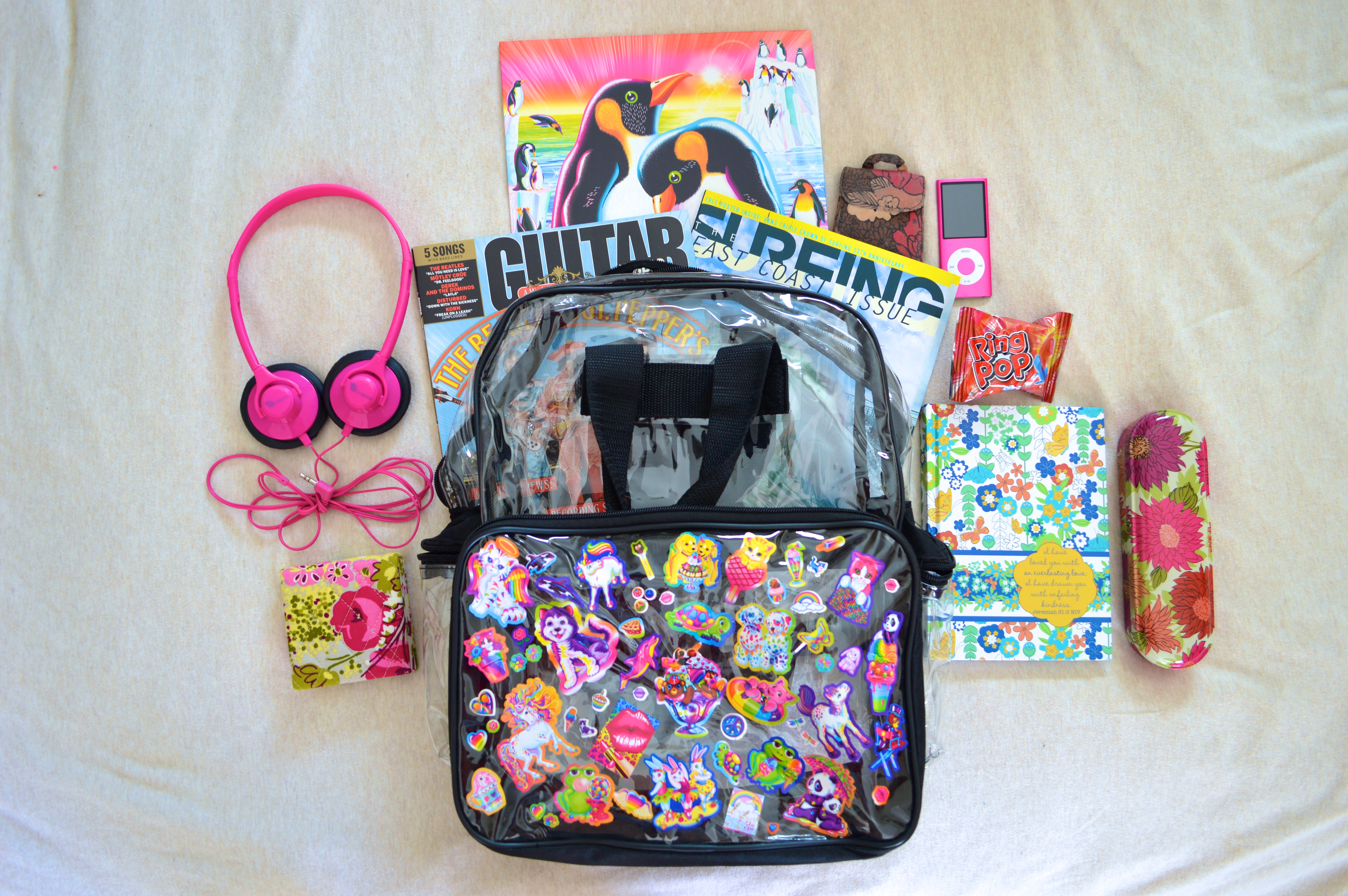 Decorate Pencil Case Backpack